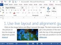 Configurando a aparência de um arquivo no Word 2013