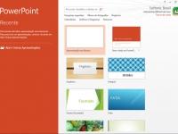 Dando vida a sua apresentação de slides do PowerPoint 2013
