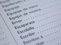 Espanhol introdutório para intercambista