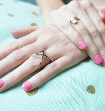 Técnica de decoração de unhas