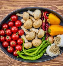 Curso de Alimentos em foco: confeitaria, vegetarianismo e conservação com certificado