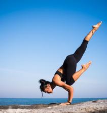 Aula de Yoga nível intermediário