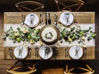 Como montar a mesa para refeições