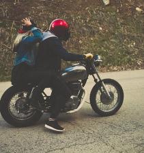 Caminhos da América sobre motos