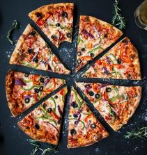Como fazer uma pizza