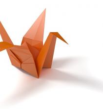 Como Fazer um Tsuru de Origami
