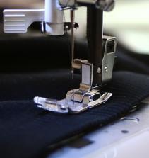 Como costurar malha na máquina doméstica