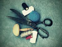 Costura/artesanato com tecidos