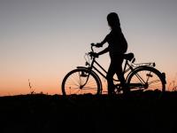 Aprendendo a andar de bike motorizada