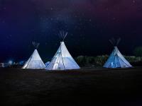 Barraca e gadgets para camping