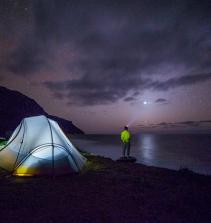 Barraca e camping