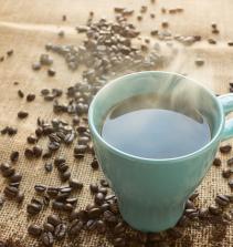 Café e calda de caramelo - receita