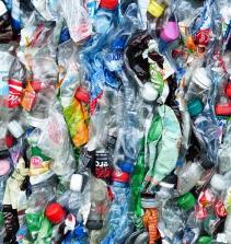 Reutilizando garrafa pet para decoração