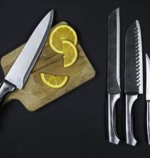 Aprenda a amolar faca.