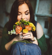 Buquê de rosas para floricultura