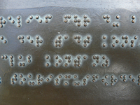 Sistema braille e código matemático braille