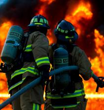 Combate a incêndio e controle do pânico
