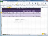 Curso de Como fazer planilhas com Excel: Máximo, Mínimo e Percentagem