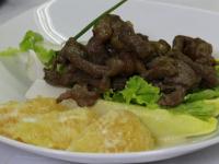 Curso de Culinária Francesa: Aspargos a vinagrete e Picanha com Ratatouille