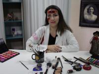 Curso de Maquiagem Efeito 3D: Maquiagem de Bruxa