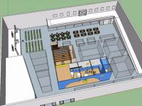 Curso de SketchUp para Design de Interiores: Modelando Piso e Alvenaria