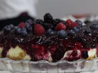 Curso de Tortas Finas: Cheesecake e Charlotte de Morango